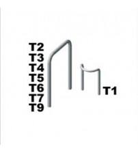 Clema metalica T4